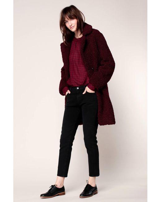 J Brand - Black Straight-leg Jeans - Lyst