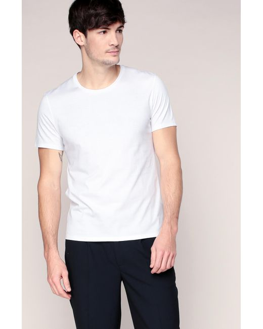 American Vintage | White T-shirt for Men | Lyst