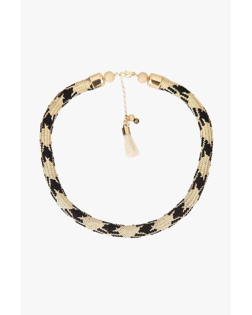 Sessun - Black Necklace / Longcollar - Lyst