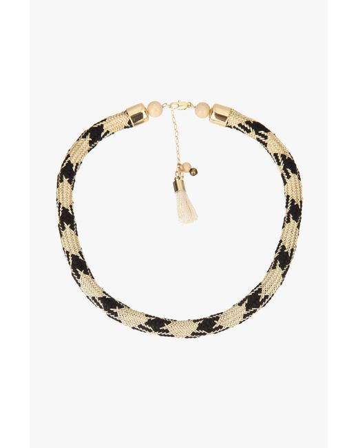 Sessun   Black Necklace / Longcollar   Lyst