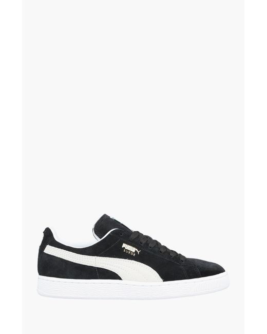 PUMA | Black Low-top Trainer | Lyst