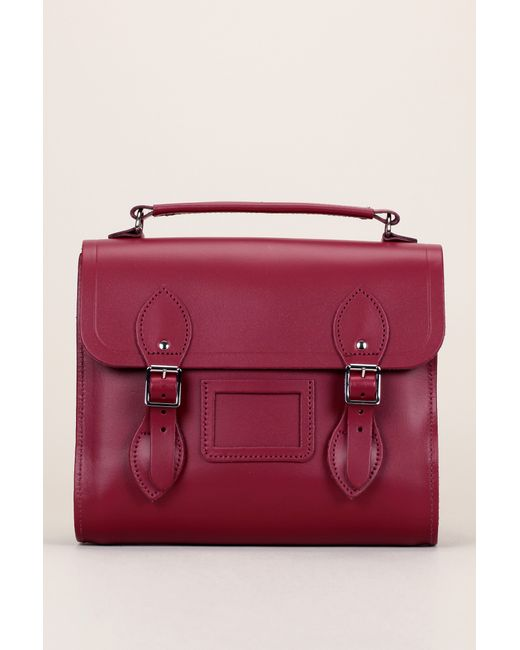 Cambridge Satchel Company | Red Leather Bag | Lyst
