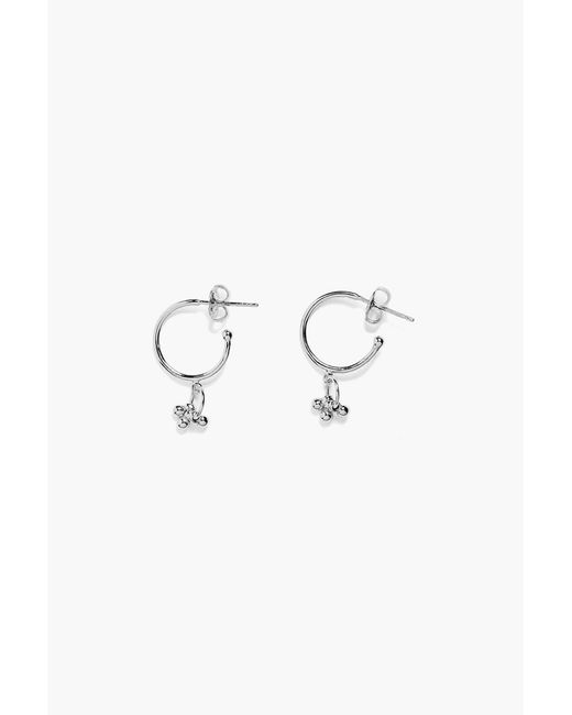 Agnes De Verneuil - Gray Earrings - Lyst