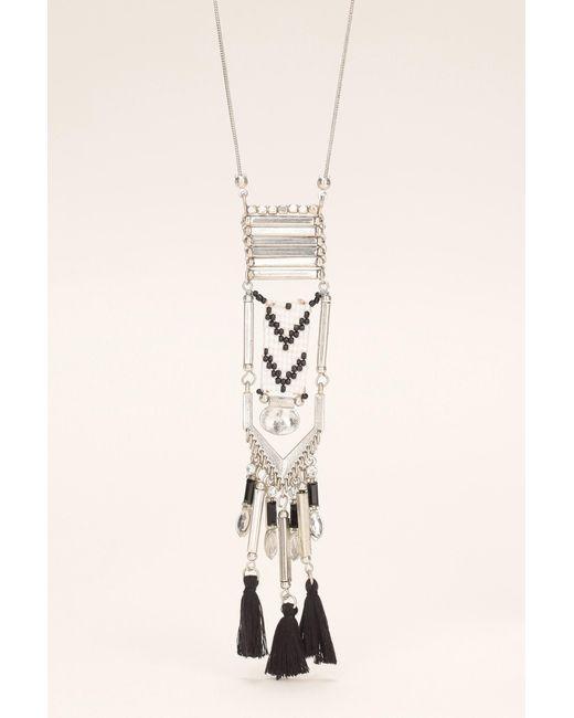 Pieces   Black Necklace / Longcollar   Lyst