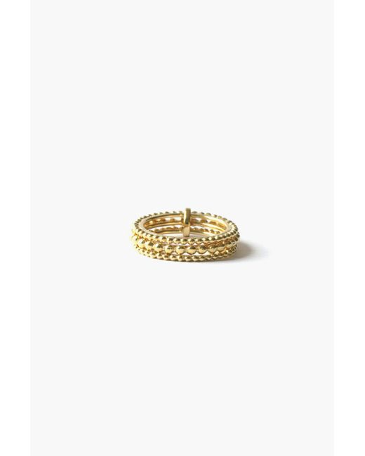 Agnes De Verneuil | Metallic Ring | Lyst