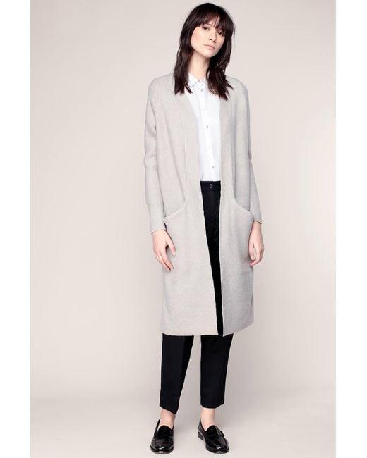 Vero Moda | Gray Coat | Lyst