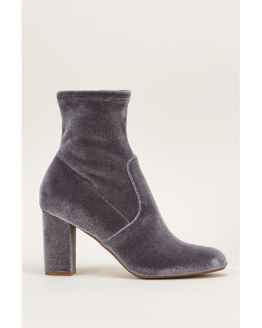 Steve Madden | Gray Bootee And Ankle Boot | Lyst