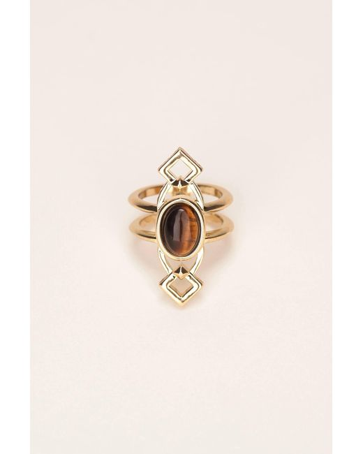 House of Harlow 1960 | Metallic Ring | Lyst