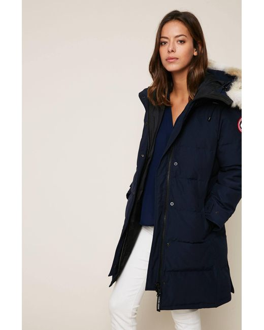 Canada Goose - Blue Quilted Jacket - Lyst