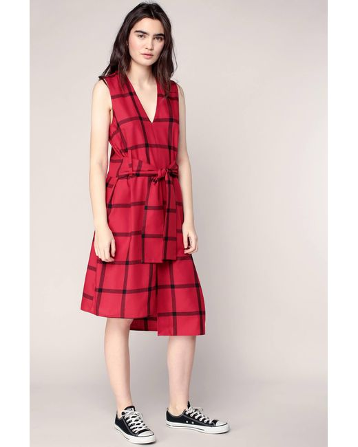Cheap Monday - Red Mid-length Dresse - Lyst