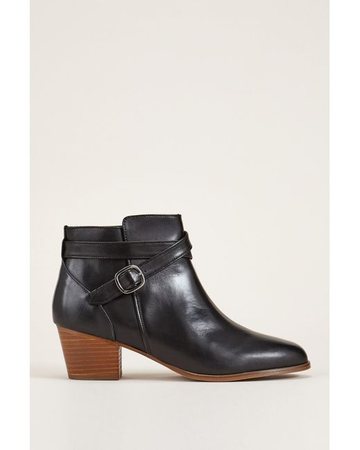Bobbies   Black Bootee And Ankle Boot   Lyst