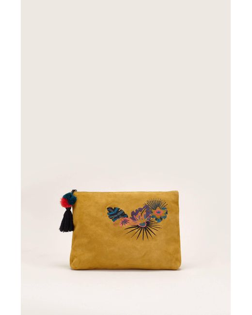 Sessun - Yellow Clutches / Evening Bags - Lyst