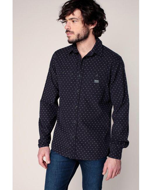 Denim & Supply Ralph Lauren - Blue Long Sleeve Shirt for Men - Lyst