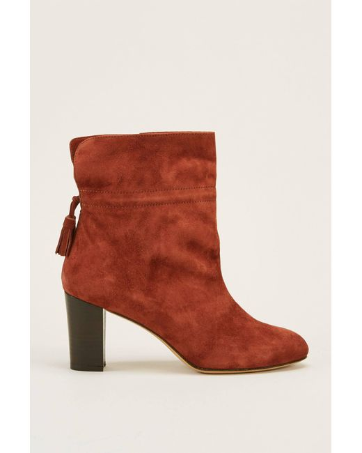 Tila March Suede Ankle Boots 6EeifvXqMB