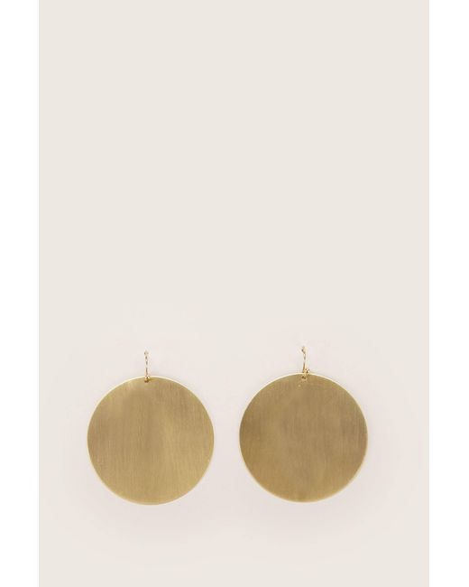 Pieces - Natural Earrings - Lyst