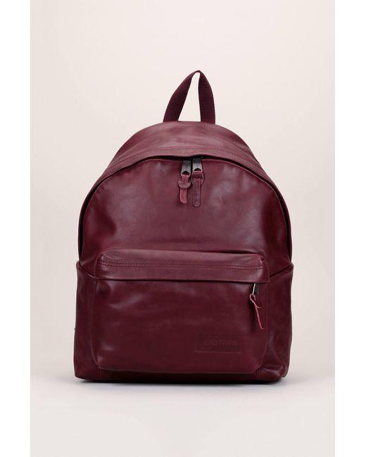 Eastpak - Red Backpack - Lyst