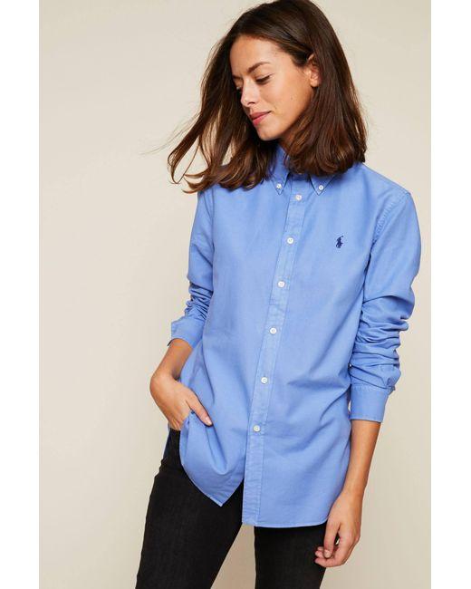 Polo Ralph Lauren - Blue Blouses - Lyst