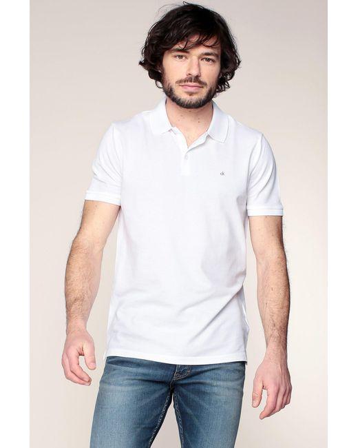 CALVIN KLEIN 205W39NYC - White Polo Shirt for Men - Lyst