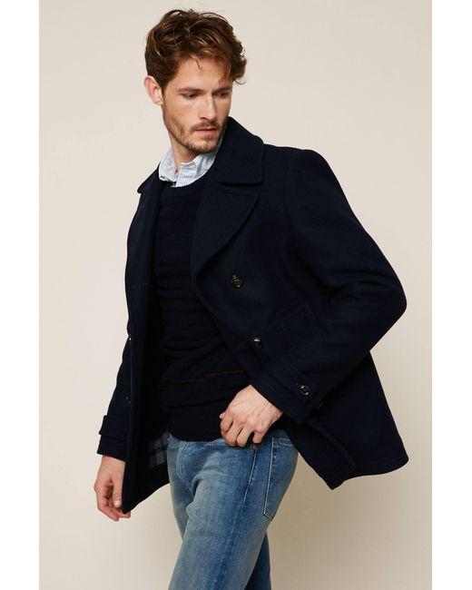 Tommy Hilfiger - Blue Coat for Men - Lyst