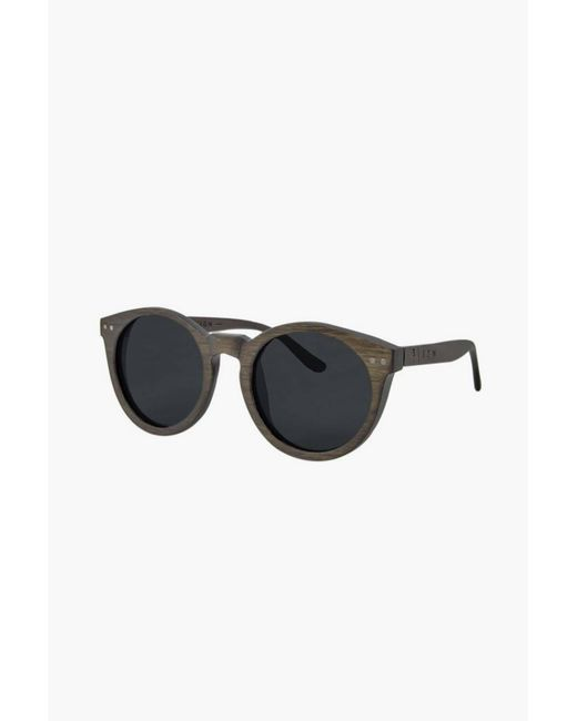 Time For Wood | Brown Sunglasses | Lyst
