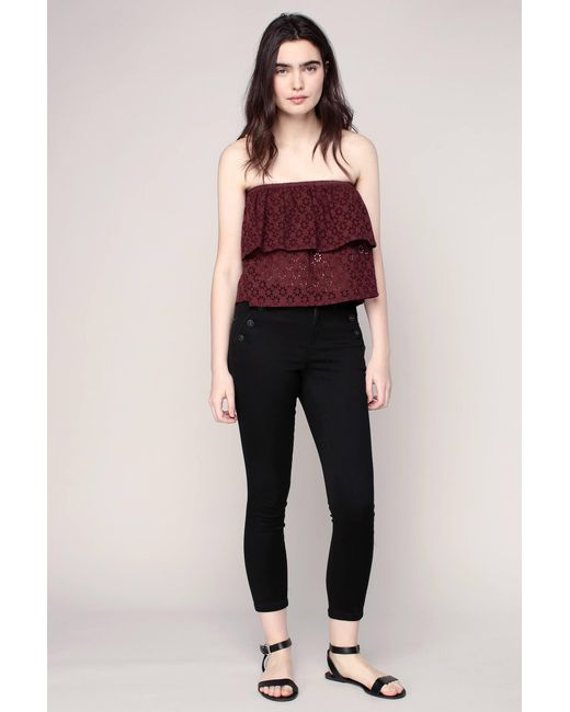 ONLY - Black Skinny Jeans - Lyst