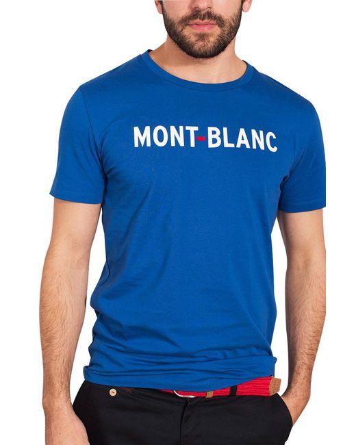 Faguo | Blue T-shirt for Men | Lyst