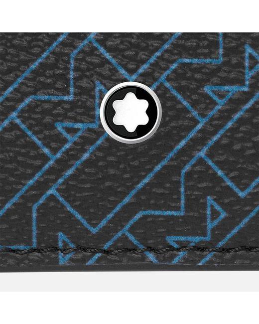 Montblanc M_gram 4810 Etui 2 Cc Mit Sichtfach in Blue für Herren