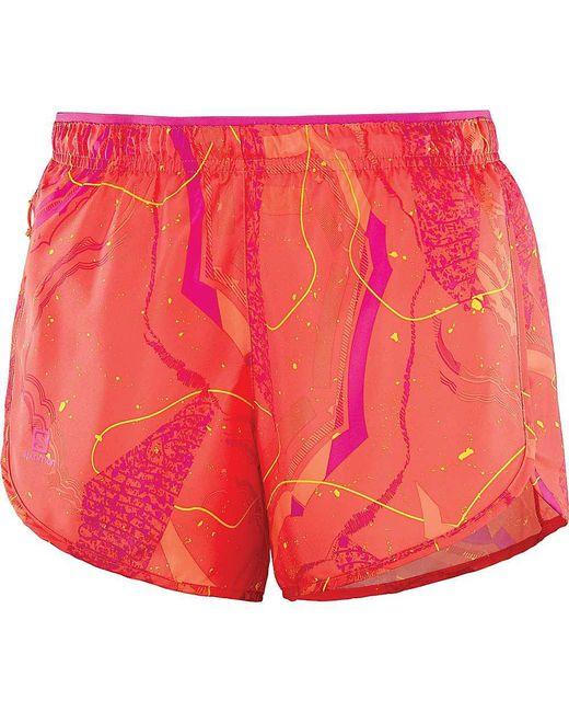 Yves Salomon - Pink Agile 4 Inch Short - Lyst