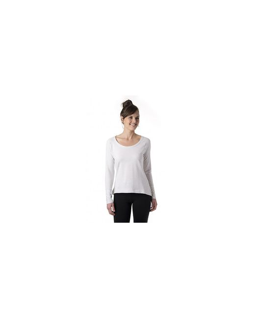 tasc Performance White Tasc Bywater Hi-lo Top