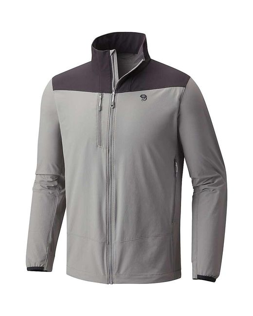 Mountain Hardwear - Gray Super Chockstone Jacket for Men - Lyst