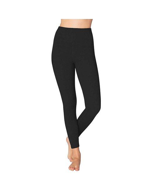 8e5b1deba6 ... Beyond Yoga - Black Mesh Behavior High Waist Legging - Lyst ...