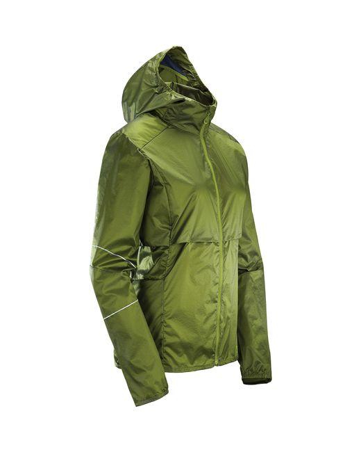 Salomon Green Elevate Aero Full Zip Hoodie