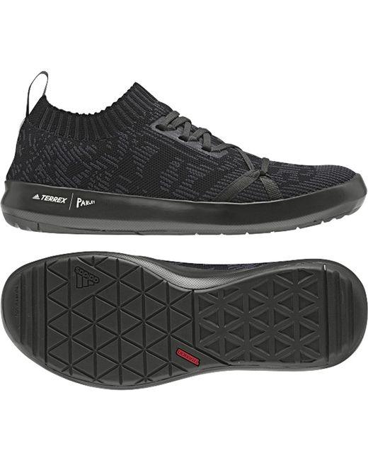 buy popular ec76e ff026 Men's Black Terrex Boat Dlx Parley Shoe