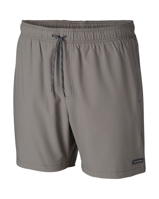 Columbia Gray Blue Magic Water Short, Breathable, Upf 50 Sun Protection for men