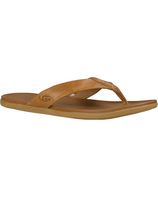 Ugg | Brown Delray Sandal for Men | Lyst