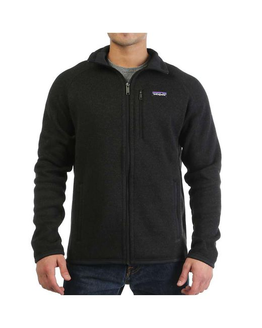 Patagonia - Black Better Sweater Jacket for Men - Lyst
