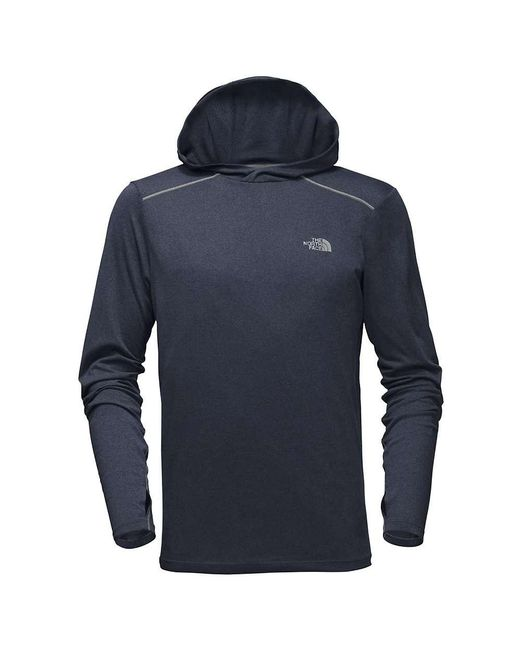 The North Face - Blue Reactor Hoodie for Men - Lyst