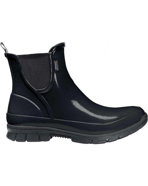 Bogs | Black Amanda Slip On Boot for Men | Lyst