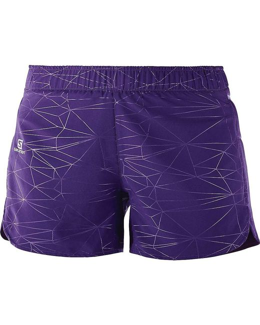 Yves Salomon - Purple Trail Runner Short - Lyst