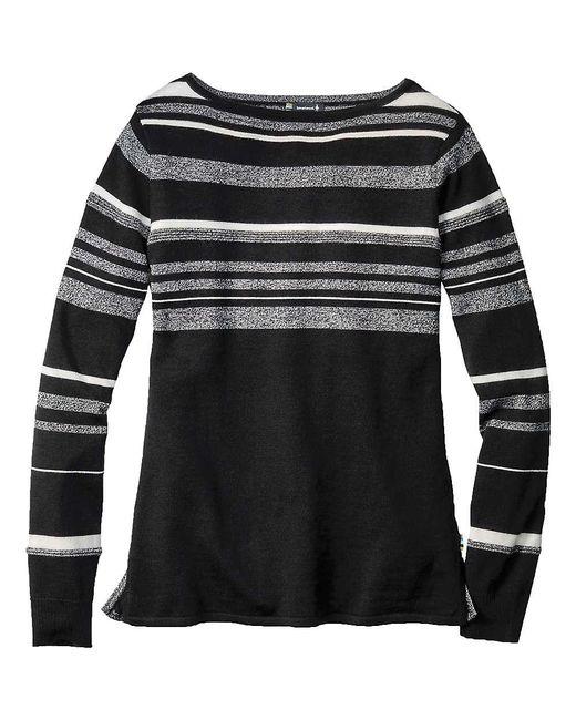 Smartwool - Black Cascade Valley Stripe Sweater - Lyst