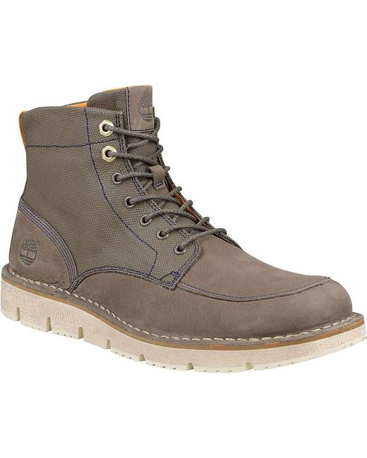 Timberland - Brown Westmore Leather And Fabric Boot for Men - Lyst