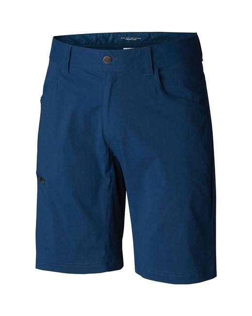 Columbia Blue Silver Ridge Ii Stretch Short for men