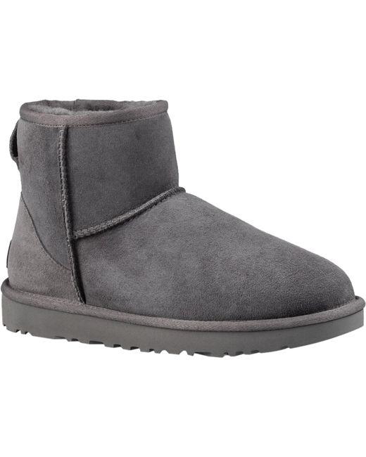 Ugg Gray UGG Classic Mini Ii Womens Grey Boots
