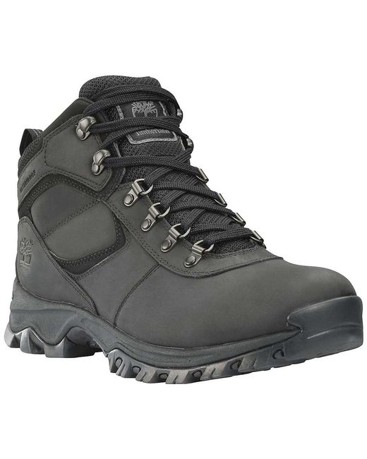 Timberland - Black Earthkeepers Mt. Maddsen Mid Waterproof for Men - Lyst