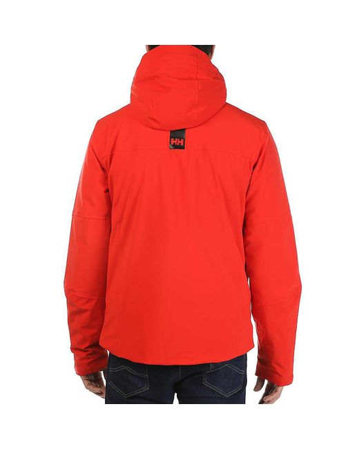 Lighting Jacket: Helly Hansen Lightning Jacket In Red For Men