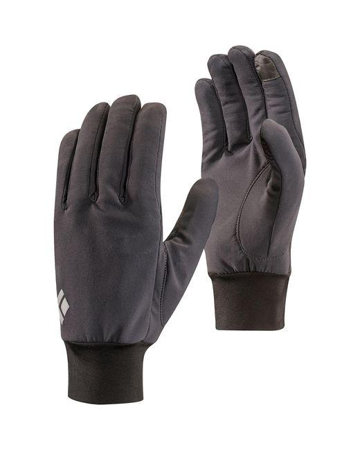 Black Diamond Black Lightweight Softshell Glove