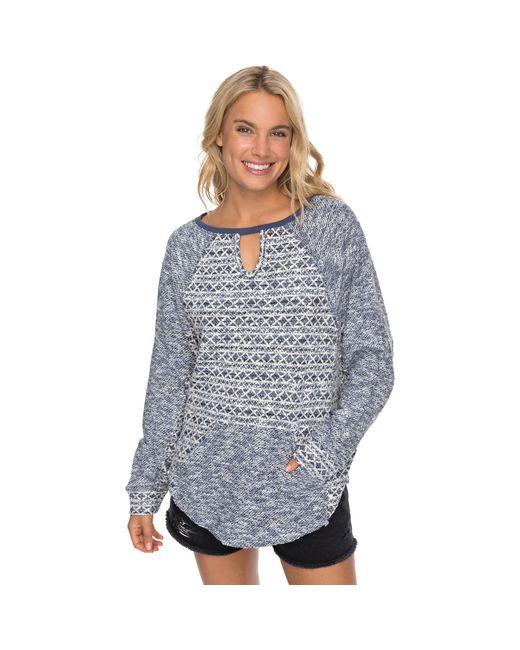 Roxy Blue Fever Trip Sweater