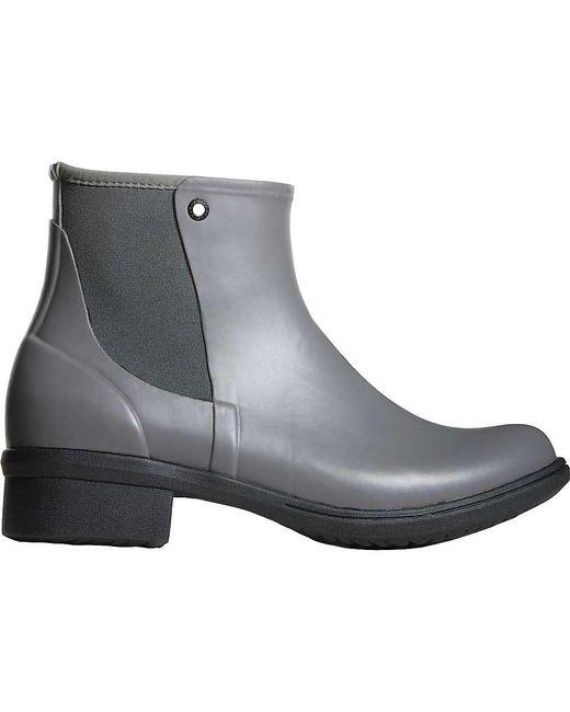 Bogs - Gray Auburn Rubber Boot - Lyst