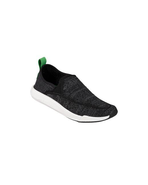 Sanuk Black Chiba Quest Knit Shoe