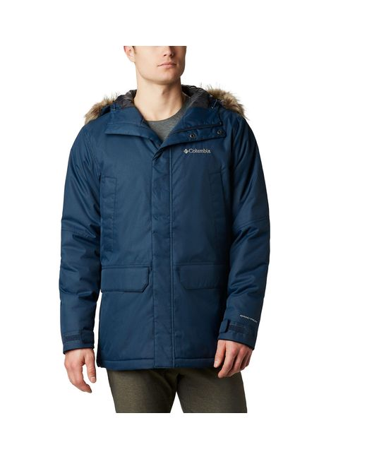 Columbia Synthetic Penns Creek Ii Parka in Blue for Men - Lyst